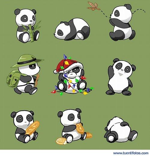 Animales de Amigos En Panditas