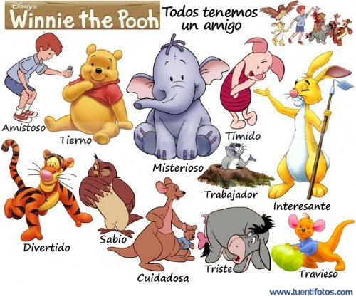 Amigos Winnie The Pooh