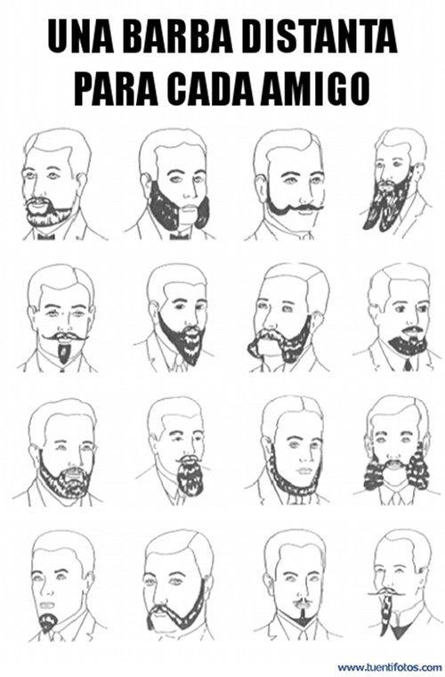 Objetos de Barba Para Cada Amigo