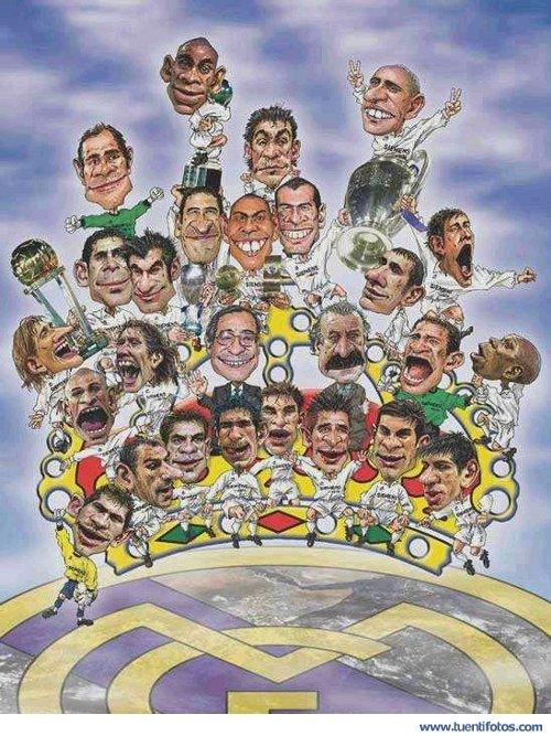 Juegos de Caricaturas del Real Madrid