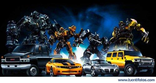 Objetos de Cuatro Transformers