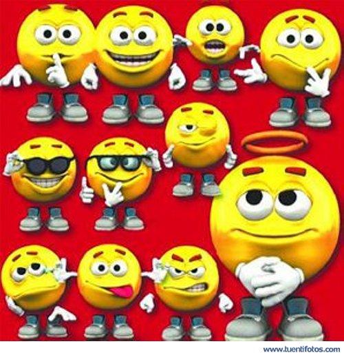 Dibujos de Estados de Animo Emoticones
