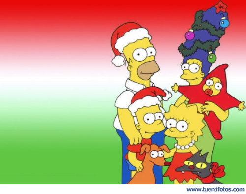 Series de Familia Simpson En Navidad