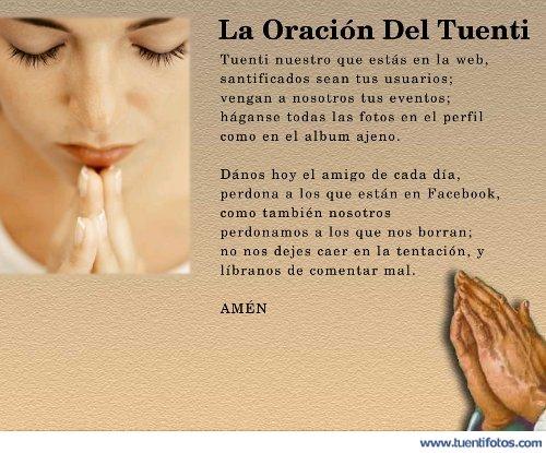 Textos de La Oración Del Tuenti