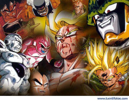 Series de Los Enemigos De Goku