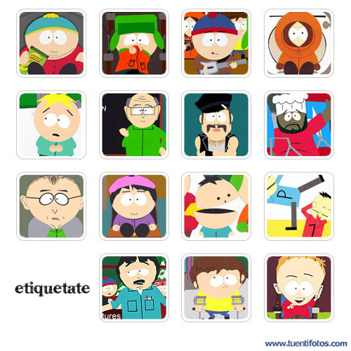 Series de Personajes De South Park