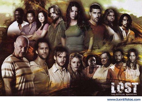 Series de Personajes De Lost