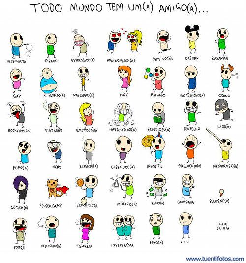 Dibujos de Todo Mundo Tem Um Amigo