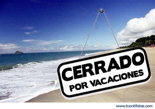 Cerrado por vacaciones eventos de cerrado por vacaciones thecheapjerseys Choice Image