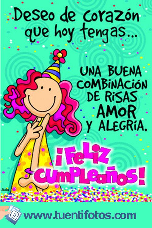 Cumpleaños de Deseo de Corazón