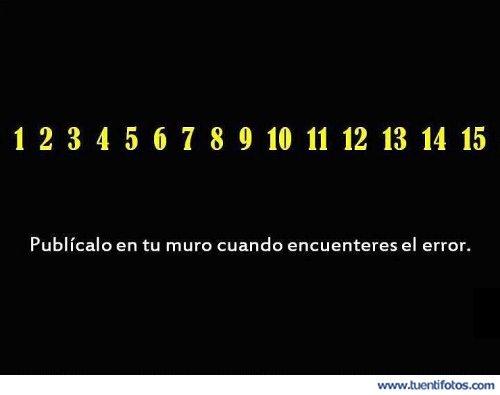 Ilusiones de Encuentra El Error