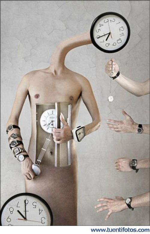 Ilusiones de Enganchado Al Tiempo