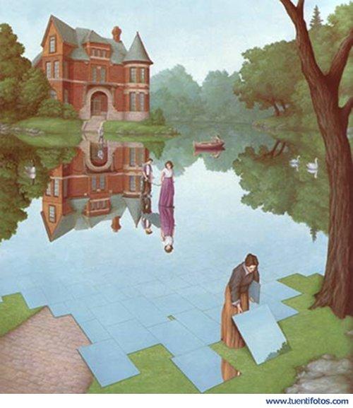Ilusiones de Lago Artificial