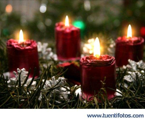 Navidad de Velas De Navidad