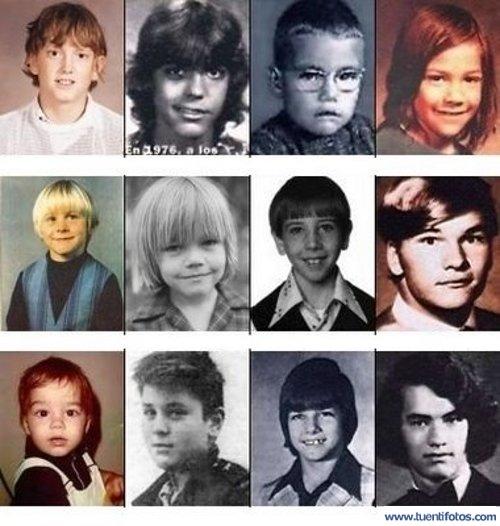 Parecidos de Actores Jovenes