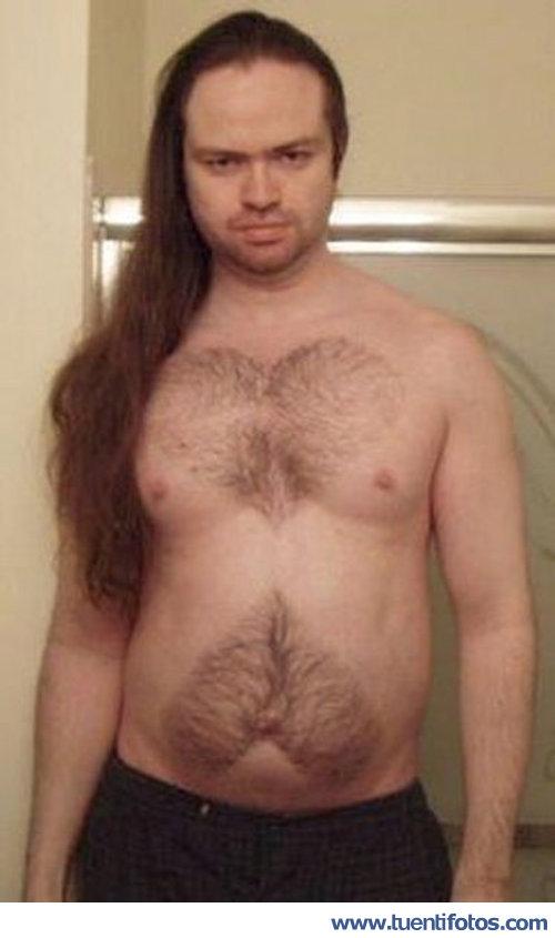 Personas de Afeitado Corazón