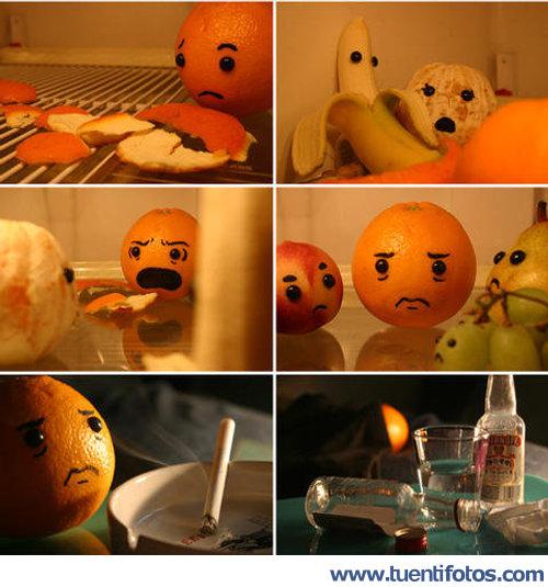 Chistes de Agonia De La Naranja