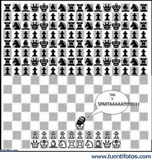 Bromas de Ajedrez Espartano