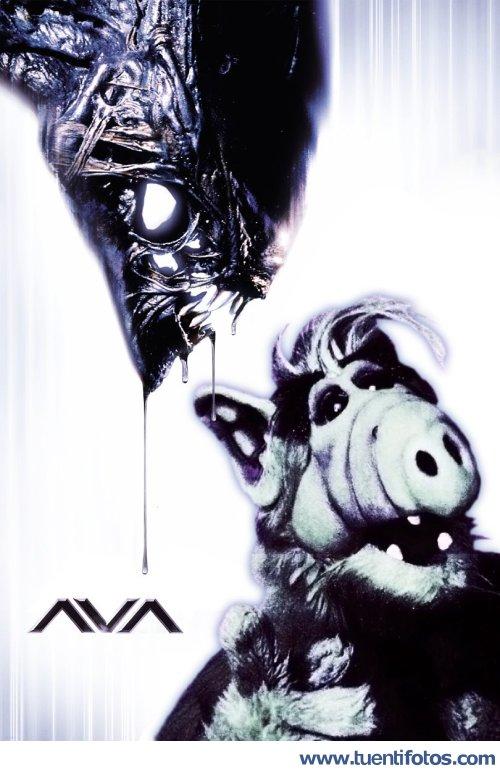 Chistes de Alf vs Predator