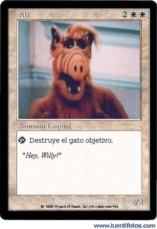 Bromas de Carta Magic De Alf