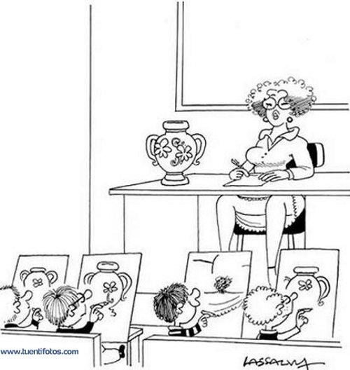 Dibujos de Clase de Dibujo