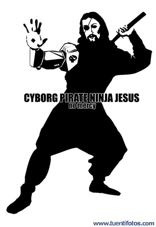 Bromas de Ciber Pirate Ninja Jesus