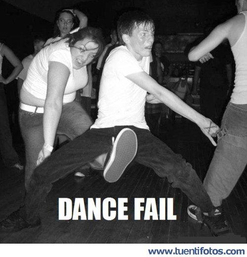 Putadas de Dance Fail