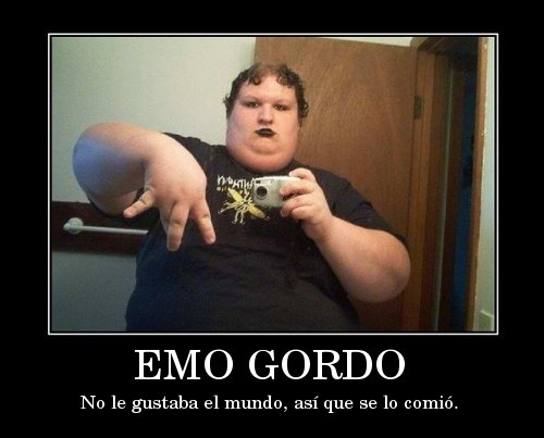 Personas de Emo Gordo