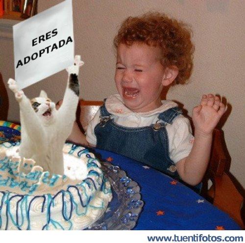 Bromas de Eres Adoptada