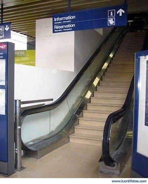 Curiosidades de Escaleras Poco Mecánicas