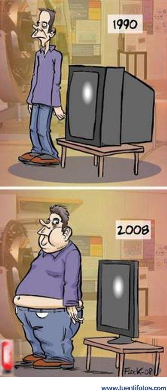 Chistes de Evolución De Los Televisiores