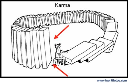 Chistes de Explicación Del Karma
