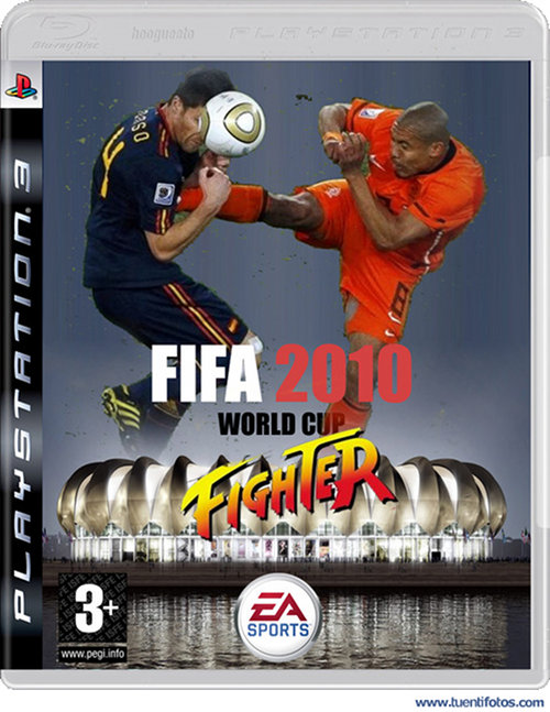 Bromas de Fifa 2010 World Cup Fighter
