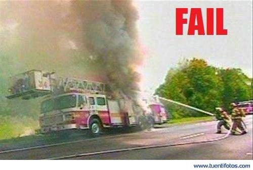 Curiosidades de Fuego Ataca a Camion de Bomberos
