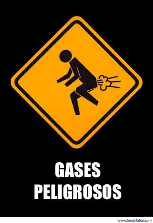 Señales de Gases Peligrosos