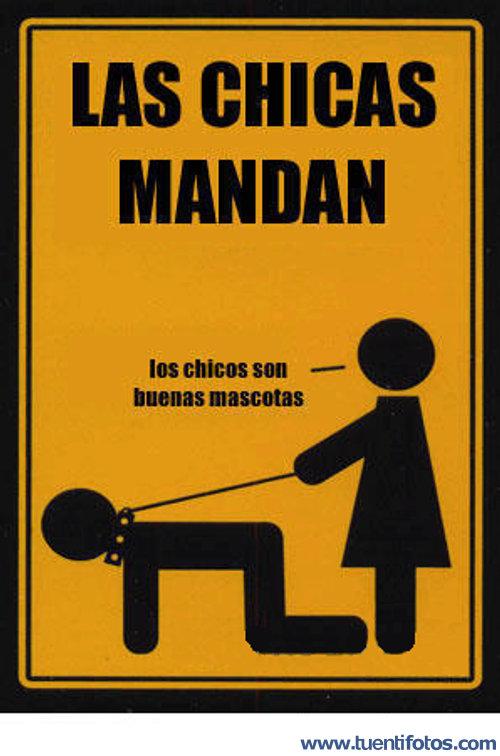 Feminista de Las Chicas Mandan