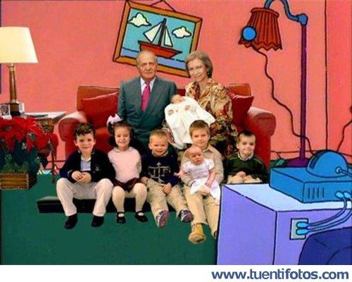 Bromas de Los Reyes En Los Simpson