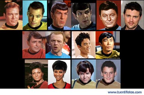 Parecidos de Los Star-Trek De Antes Y Ahora