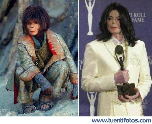 Parecidos de Michael Jackson Y Mono