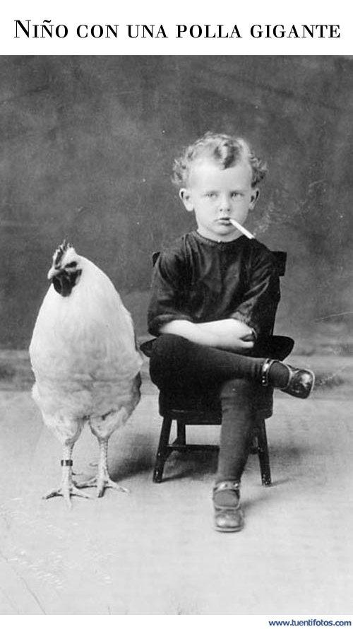 Curiosidades de Niño Con Una Polla Gigante