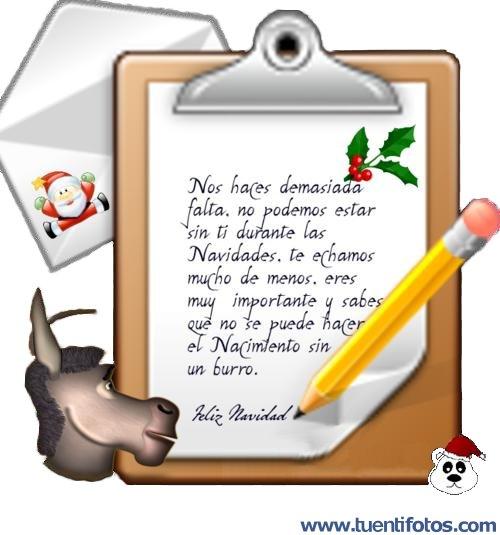 Textos de Nos Haces Falta En Navidad