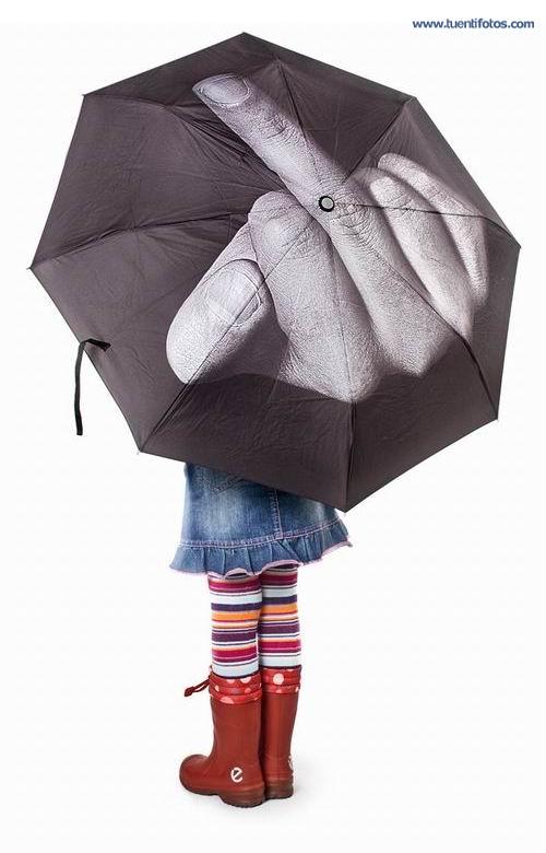 Bromas de Paraguas Insulton