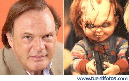 Parecidos de Pedro Piqueras Se Parece A Chucky