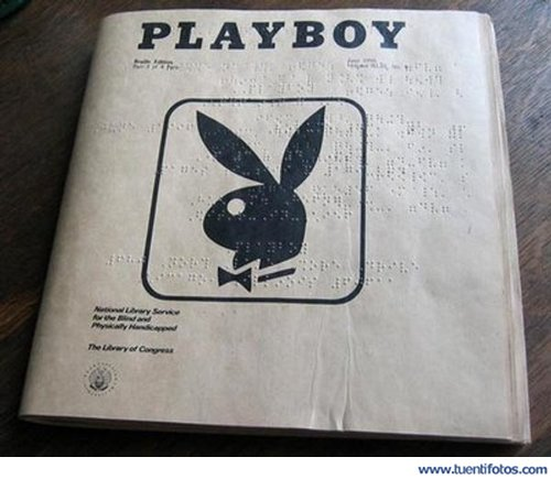 Bromas de Playboy Para Ciegos