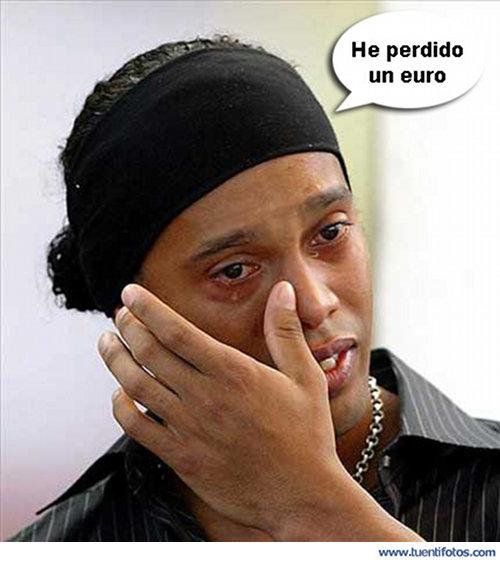 Personas de Ronaldinho Llorando