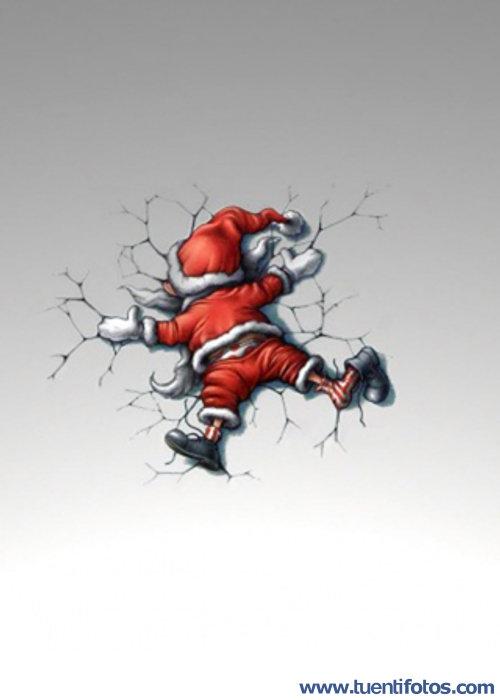 Putadas de Santa Claus Se Cayó Del Trineo