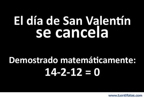 Señales de Se Cancela San Valentín