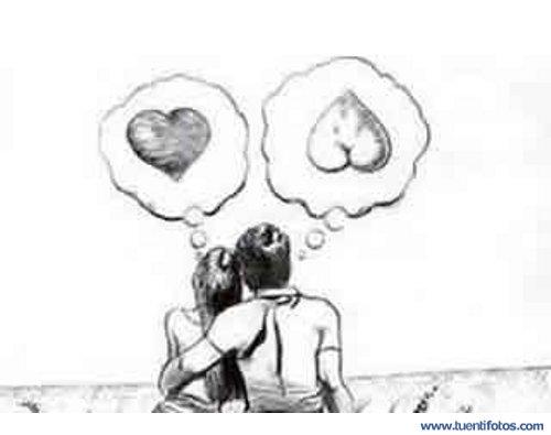 Chistes de Simbolos Amorosos de Hombre y Mujer