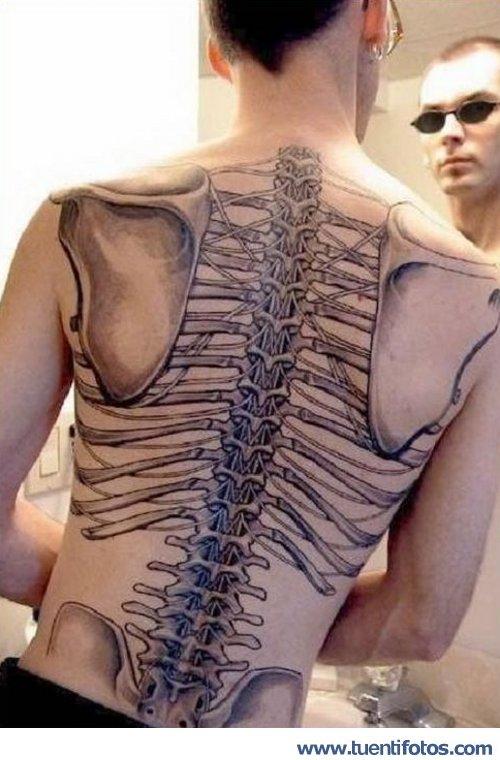 Personas de Tatto del Esqueleto