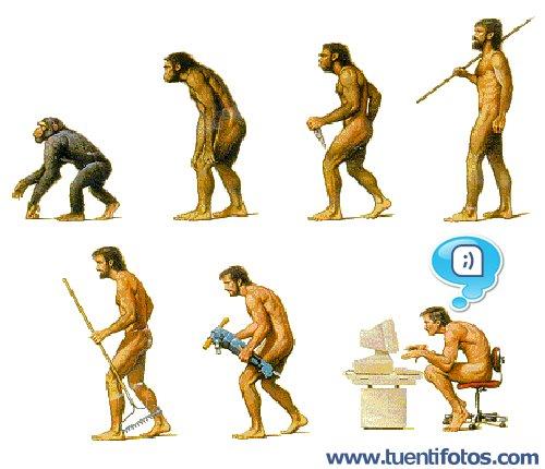 Chistes de Tuenti Evolución
